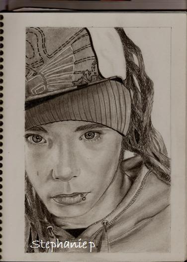 Tom Kaulitz by StephanieP